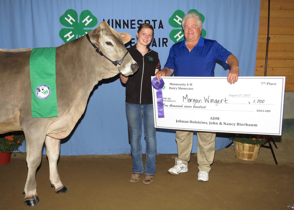 2017 4-H Dairy Showcase Results